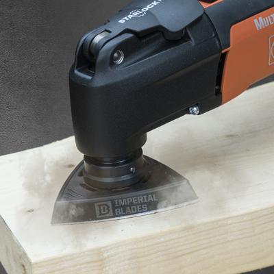 oscillating blade sanding