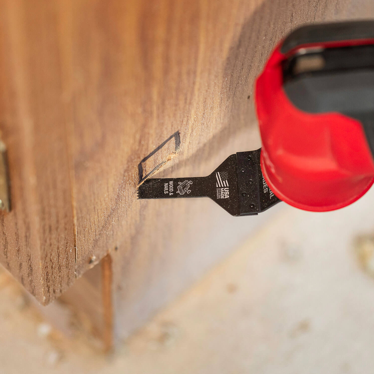 One Fit™ Fine Detail Wood Blade