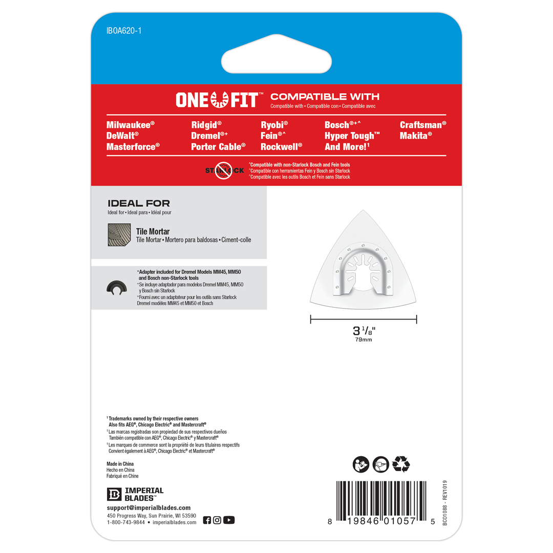 One Fit™ Carbide Grit Triangle Rasp