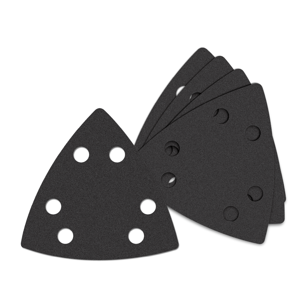 Oscillating Multi-Tool Triangle Sandpaper 120 Medium Grit