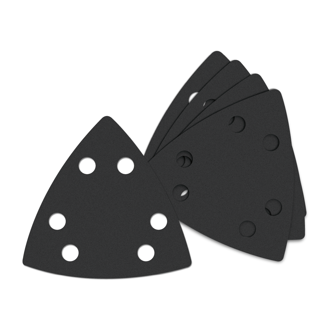 Oscillating Multi-Tool Triangle Sandpaper 180 Fine Grit