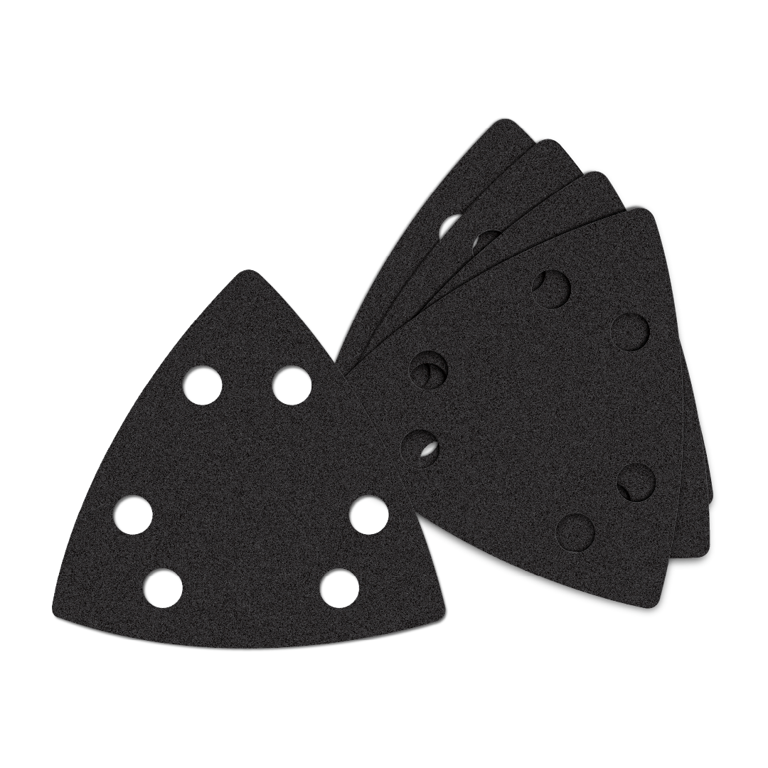 Oscillating Multi-Tool Triangle Sandpaper 60 Coarse Grit