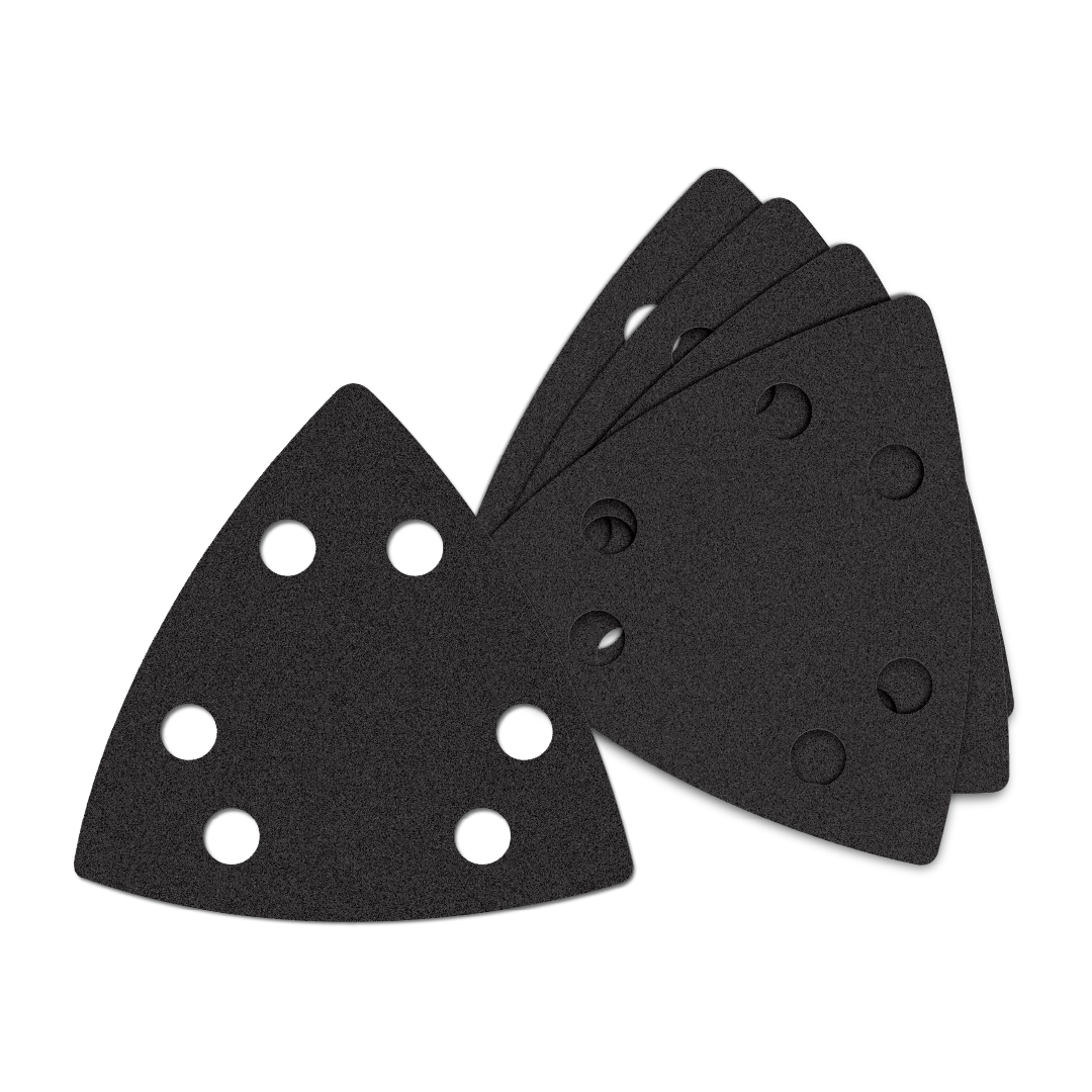 Oscillating Multi-Tool Triangle Sandpaper 80 Coarse Grit