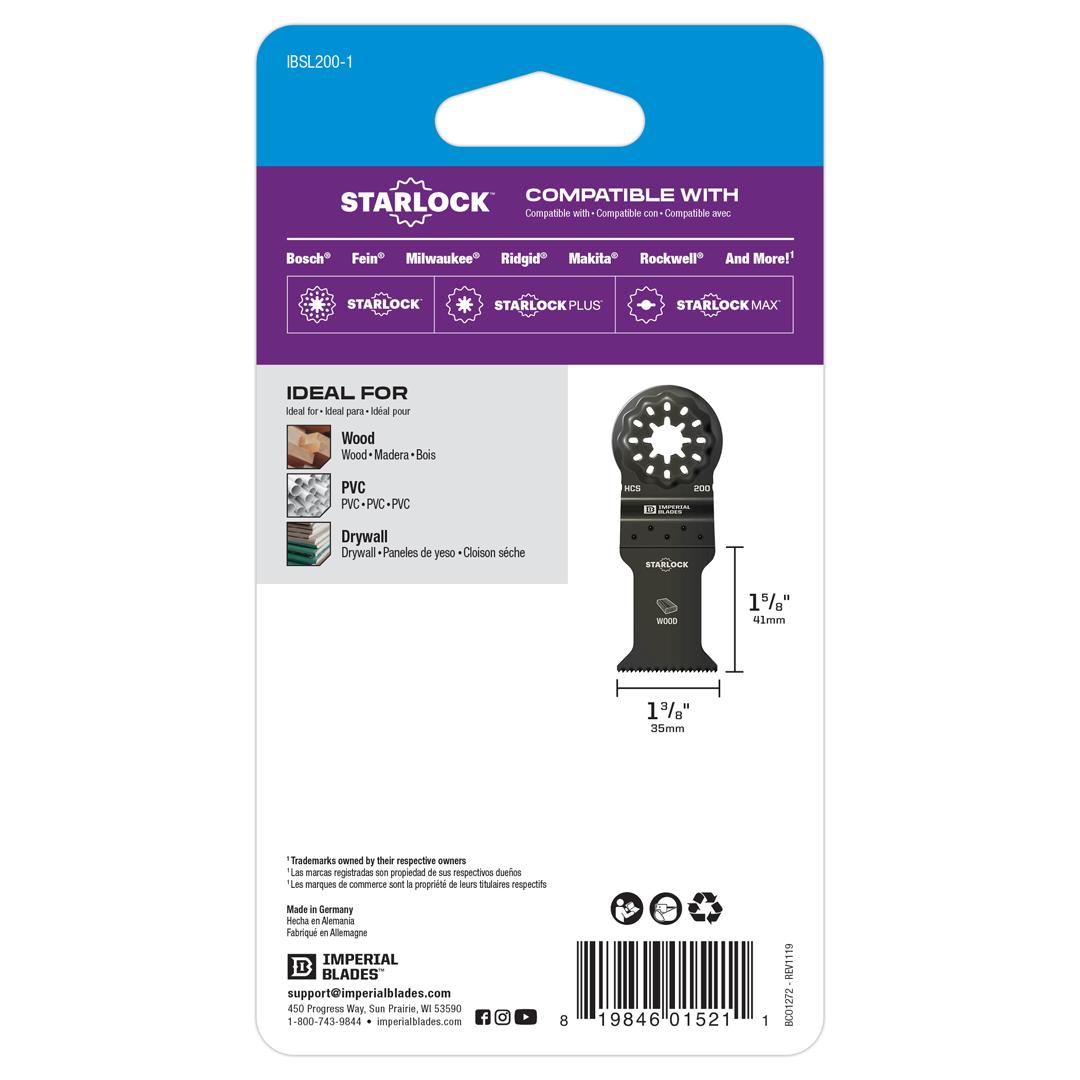 Starlock™ Standard Wood Blade