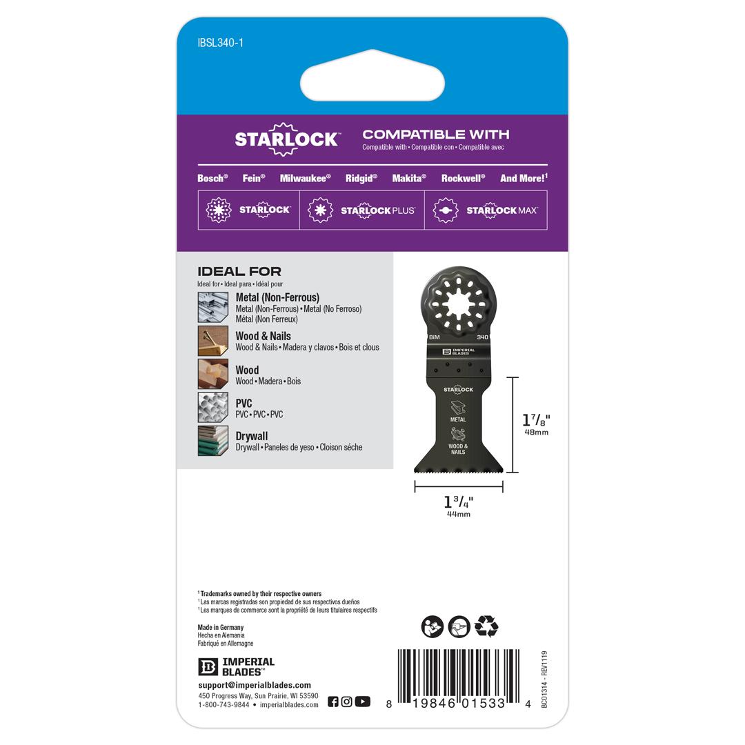 Starlock™ Standard Metal Blade
