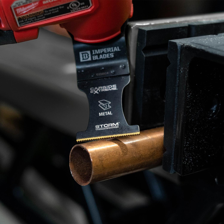 One Fit™ Carbide Extreme Storm Titanium Metal Blade
