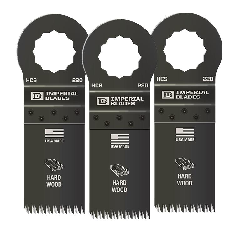 Three Oscillating Blades