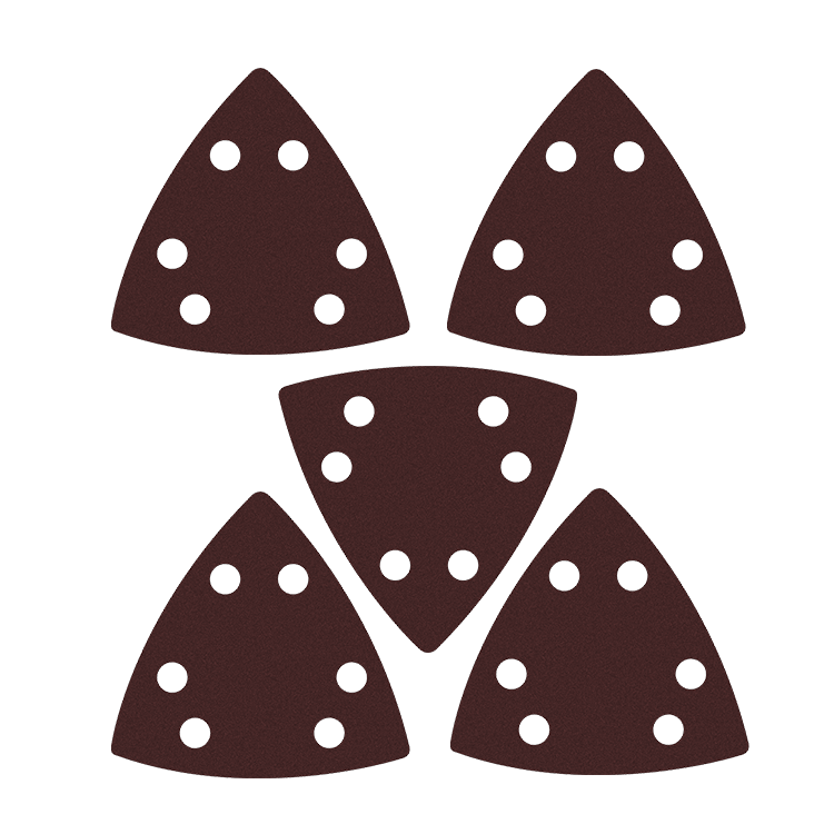 Five Oscillating Blades